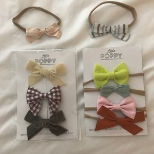 Other - Little Poppy Co Bow Set